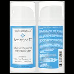 Natural progesterone cream - FEMARONE 17 (natural hormone balance)