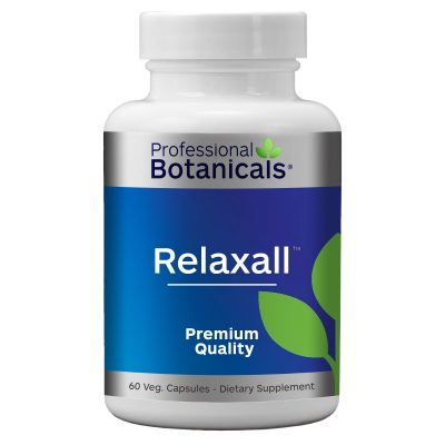 Muscle relaxer / natural anxiety support - RELAXALL (60 capsules)
